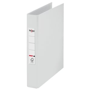 Rexel Choices A5 Ring Binder, 25mm Spine, 2 O-Ring, White