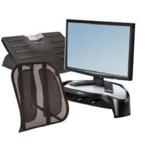 FELLOWES ERGONOMIC DESK BUNDLE 2
