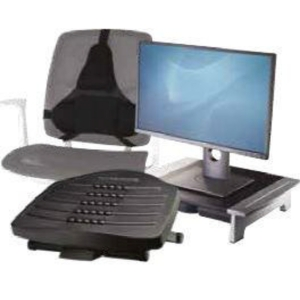 FELLOWES ERGONOMIC DESK BUNDLE 3