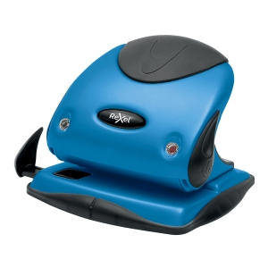 Rexel Choices P225 25 Sheet 2 Hole Punch Metal Blue