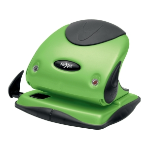 Rexel Choices P225 25 Sheet 2 Hole Punch Metal Green