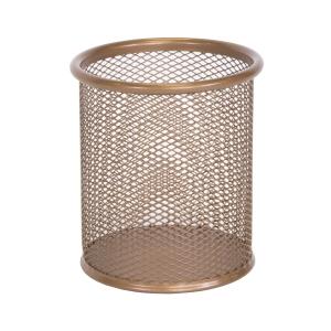 Osco PP1-Rg Pen Pot Wiremesh Rosegold