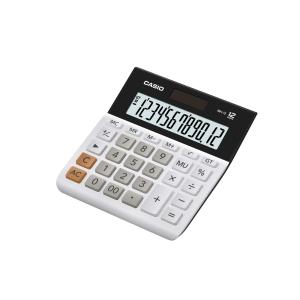 Casio MH-12-WE Basic Desk Calculator - 12 Digit