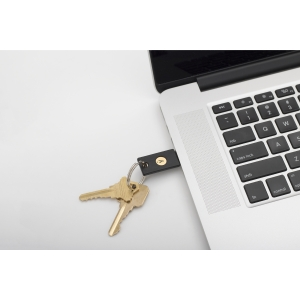 Yubikey 5 USB NFc Authentication Device
