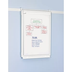 LEGAM 304300 LEGAL FLIPCHART FOLDING WHite