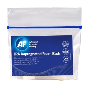 IPA Impregnated Foam Buds - Pack of 25