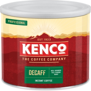 Kenco Original Decaffeinated Instant Coffee Tin 500G