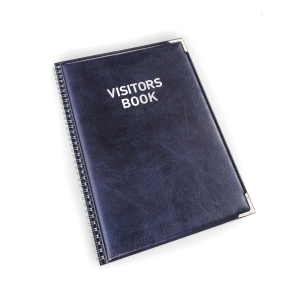 Durable Visitors Book Refills - Pack of 100 Perforated Badge Inserts