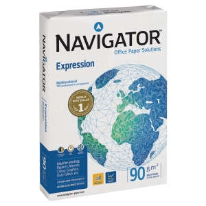 NAVIGATOR EXPRESSION PAPER WHITE A3 90GSM - REAM OF 500 SHEETS