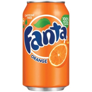FANTA ORANGE CAN 330ML - PACK OF 24