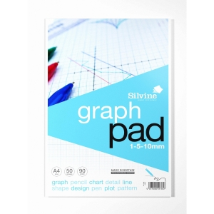 Cambridge Everyday A4 Legal Pad Graph Ruling - Pack of 5