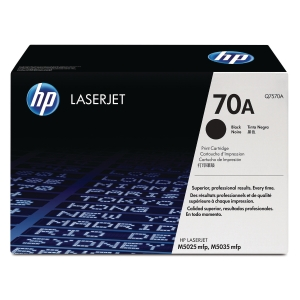 HP 70A Black Original Laserjet Toner Cartridge (Q7570A)
