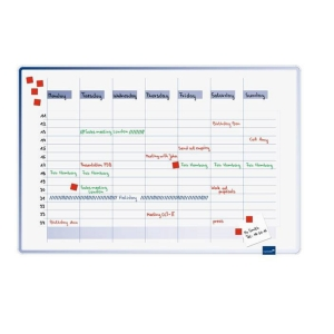 LEGA 490000 ACCENT LINEAR WEEKLY PLANNER COOL