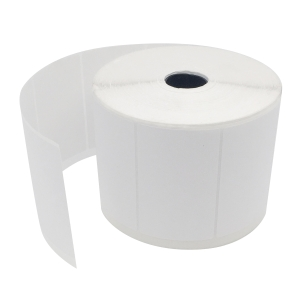 Address Labels L017/023 Plain Label White 76 X 50 mm - Roll of 1500