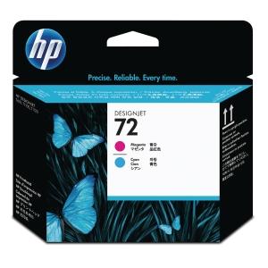 HP 72 Magenta and Cyan Printhead (C9383A)