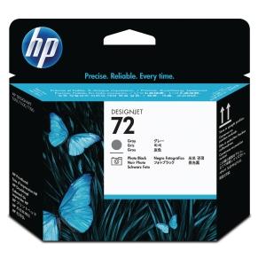 HP 72 Gray and Photo Black DesignJet Printhead (C9380A)