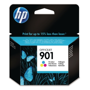 HP 901 Tri-Colour Original Ink Cartridge (CC656AE)