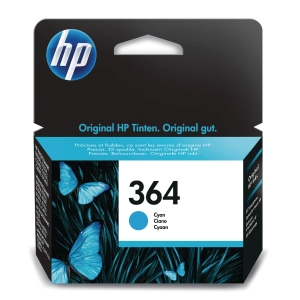 HP 364 Cyan Original Ink Cartridge (CB318EE)