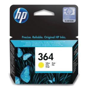 HP 364 Yellow Original Ink Cartridge (CB320EE)