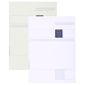 SAGE COMPATIBLE INVOICE FORMS A4 LASER 2 PART - BOX OF 500