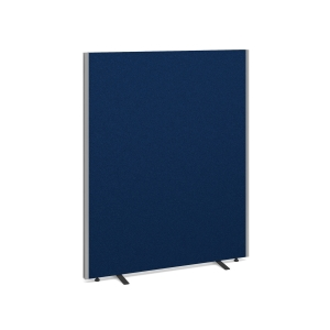 FREE STANDING ACOUSTIC OFFICE SCREEN 1500H X 1200W ROYAL BLUE