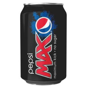 PEPSI MAX 330ML - PACK OF 24 CANS