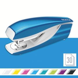 Leitz NeXXt Series WOW 5502 Metal Office Stapler - Metallic Blue