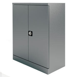 KONTRAX STATIONERY CUPBOARD 1M GREY