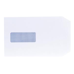 Lyreco White Envelopes C5 P/S Window 100gsm - Pack Of 500