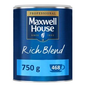 MAXWELL HOUSE RICH BLEND COFFEE 750G TIN