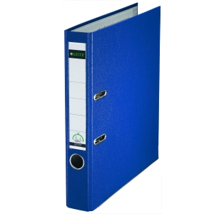 LEITZ 180 BLUE A4 POLYPROPYLENE LEVER ARCH FILE 52MM