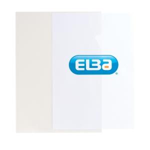 Elba A4 Cut Flush Folders, Clear
