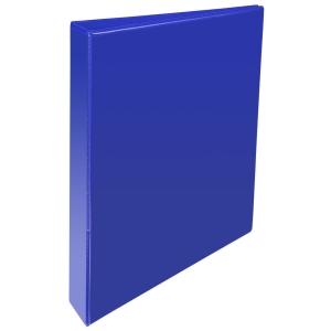 KREACOVER PP RING BINDER, 32X27.5CM, 2 D-RINGS, 47MM SPINE - BLUE