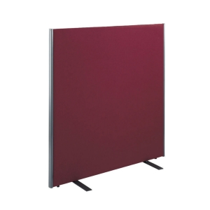 FREE STANDING ACOUSTIC OFFICE SCREEN 1500 X 1200H RED