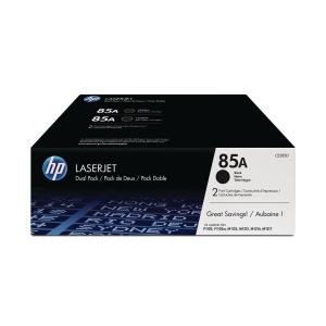 HP 85A 2-Pack Black Original Laserjet Toner Cartridges (CE285AD)