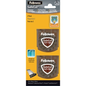 FELLOWES 5411401 TRIMMER BLADES STRAIGHT PACK OF 2