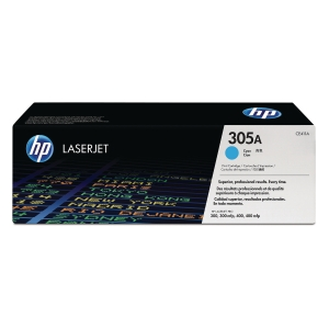 HP 305A Cyan Original LaserJet Toner Cartridge (CE411A)