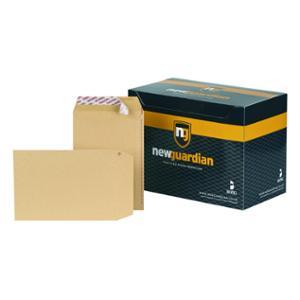 New Guardian Manilla C5 Plain Peel And Seal Envelopes 130gsm - Box of 250
