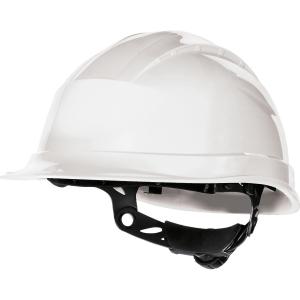 Deltaplus Quartz III Safety Helmet White