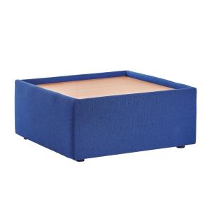BLUE MODULAR RECEPTION TABLE 275MM X 620MM X 620MM