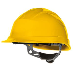 DELTAPLUS QUARTZ III SAFETY HELMET YELLOW