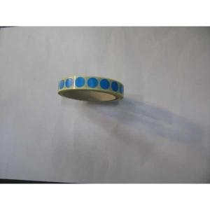BX1000 LABELS 13MM DIAMETER BLUE BARNARDOS