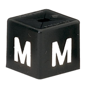 PK50 MINICUBE SIZ M WHITE / BLACK BARNARDOS
