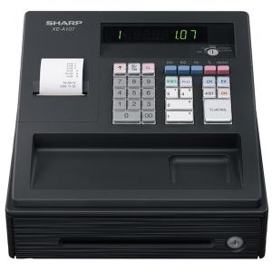 SHARP XEA107BK CASH REGISTER BLACK