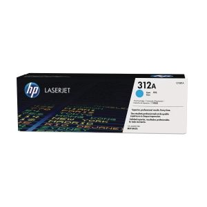 HP 312A Cyan Original LaserJet Toner Cartridge (CF381A)
