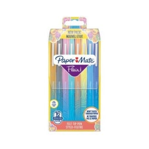 PAPERMATE FLAIR ASSORTED WALLET OF 16