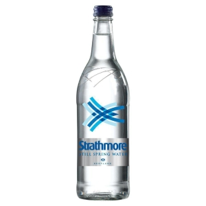 STRATHMORE STILL WATER GLASS BOTTLE 1 LITRE - PACK OF 12
