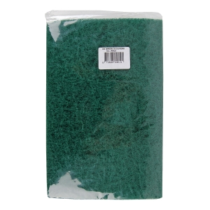 GREEN HEAVY DUTY SCOURERS - PACK OF 10