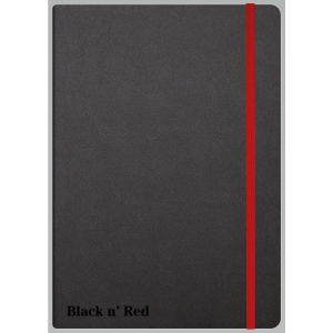 BLACK N RED 33673 NOTE BOOK RULED A5 BLACK