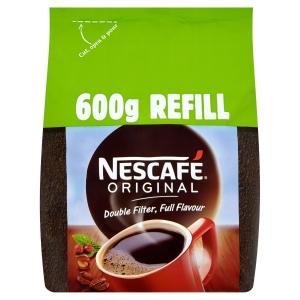 Nescafé Original Coffee Granules Pouch 600G